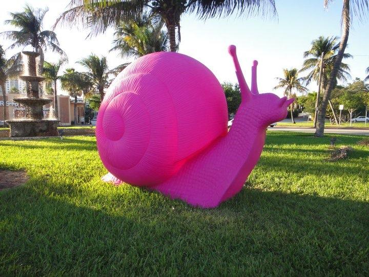 Art Basel Miami Snail